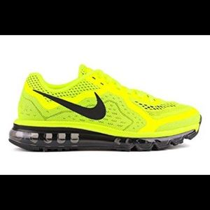 Nike Air Max 2014 in Volt - 6 Youth, fits 8 women